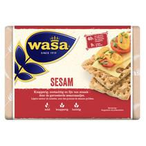 Wasa - knackebrod sesam 250g - 12 pakken