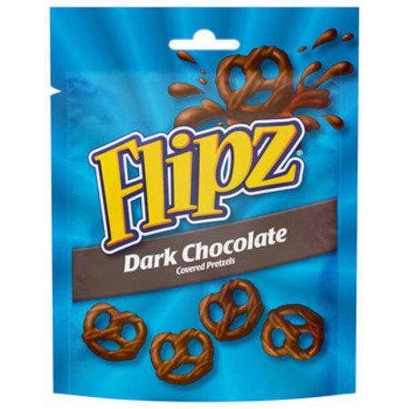 Flipz Flipz - chocolate pretzels dark - 6 zakken