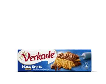 Verkade Verkade - nobo sprits choc.melk 200g - 12 pakken