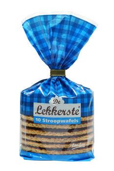 De Lekkerste De Lekkerste - stroopwafels echte boter 10st - 12 zakken