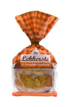 De Lekkerste De Lekkerste - gevulde koek echte boter 4st - 9 zakken