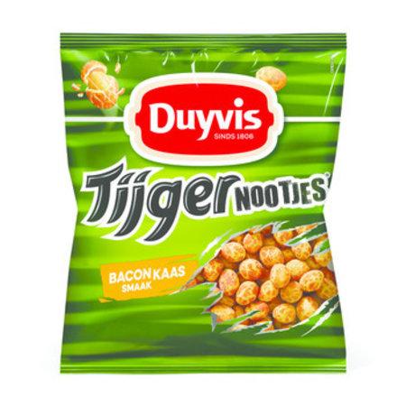Duyvis Duyvis - tijgernootjes 300g bacon kaas - 8 zakken