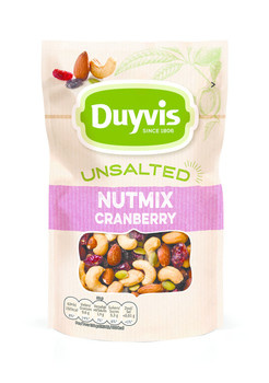 Duyvis Duyvis - nat.goodn.uns.mix cranb.125g - 10 zakken