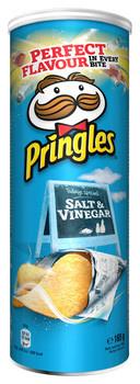 Pringles Pringles - salt & vinegar 165g - 9 kokers