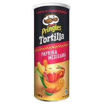 Pringles - tortilla paprika 160g - 9 kokers