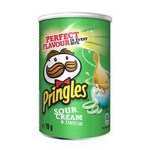 Pringles - sour cream&onion 70g - 12 kokers