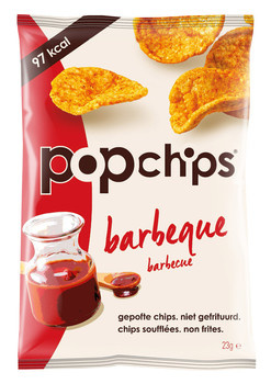Pop Chips Pop Chips - barbeque 23g - 21 zakken