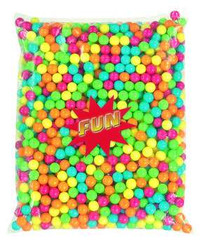 FUN CANDY Fun Candy - Kauwgombal Mini Azovrij 2,5Kg, 2,5 Kilo