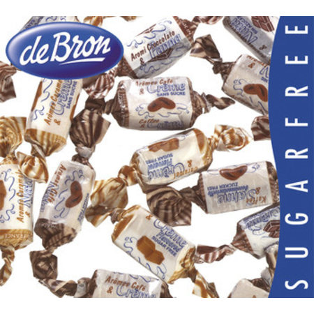 De Bron De Bron - Toffees Caribbean & Cream Sv, 1 Kilo