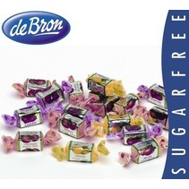 De Bron - toffees fruit & juice sv - 1 kilo