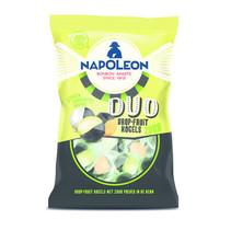 Napoleon - duo drop fruit zuur 12x175 gr - 12 zakken
