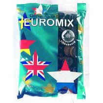 Likkebaard - likkebaard-gemengde drop euromix 750gr - 12 zakken