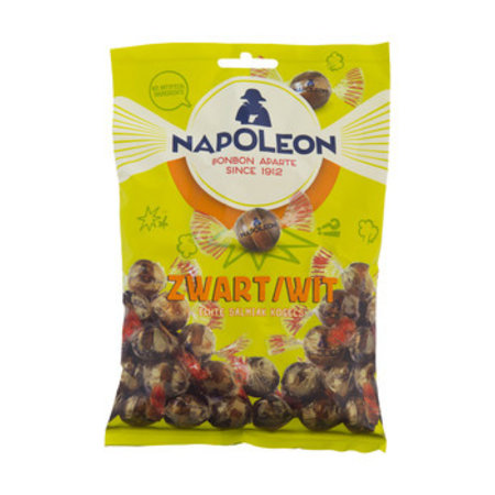 Napoleon Napoleon - zwart-wit 12x150 gram - 12 zakken
