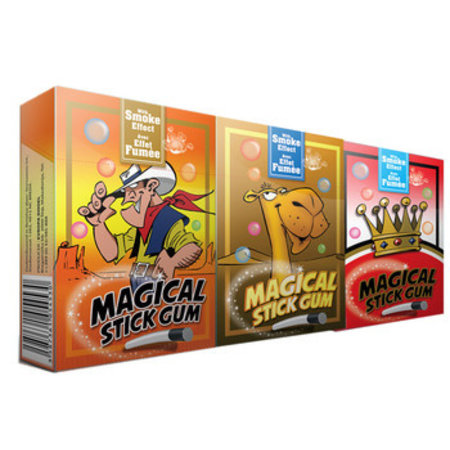 Evropa Evropa - Magical Stickgum 3Pak, 16 Stuks