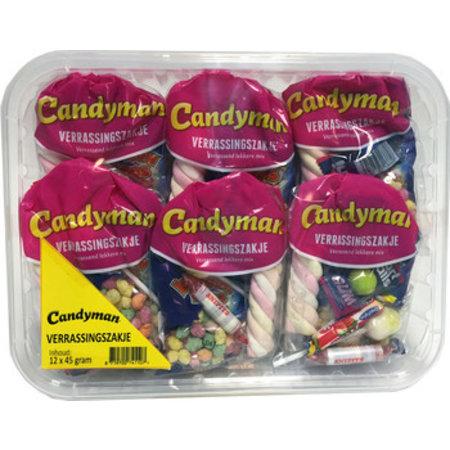 Candyman Candyman - Candyman Verrassingszakje, 12 Zakken