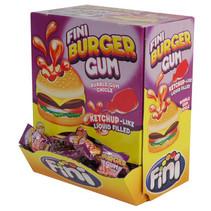 Fini - Fini Burger Bubble Gum, 200 Stuks
