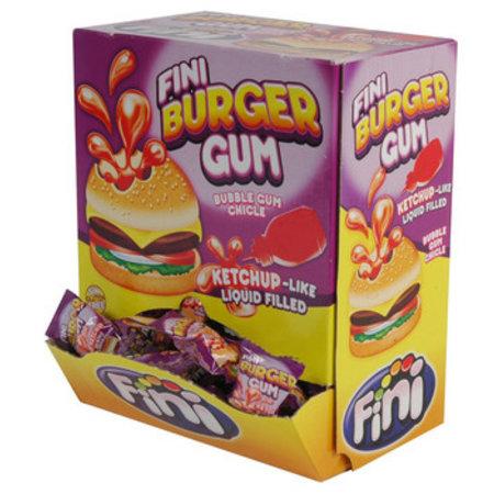 Fini Fini - Fini Burger Bubble Gum, 200 Stuks