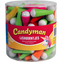 Candyman - ijshoorntjes - 90 stuks