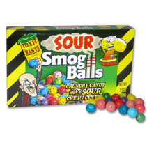 2Buy Candy - toxic waste smog balls box - 12 stuks
