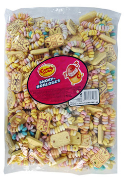 Candyman Candyman - Candyman Snoephorloges, 100 Stuks