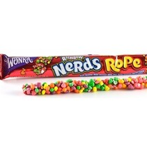 Wonka - nerds ropes very rainbow - 24 stuks