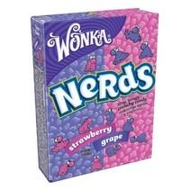 Wonka - nerds grape-strawberry - 36 stuks