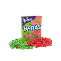 Wonka - nerds watermelon-cherry - 36 stuks