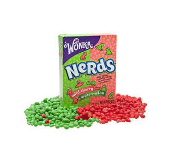 Wonka Wonka - Nerds Watermelon-Cherry, 36 Stuks