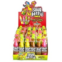 Funny Candy - sour bottle mix - 12 stuks