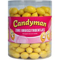 Candyman - zure bruiscitroentjes - 200 stuks