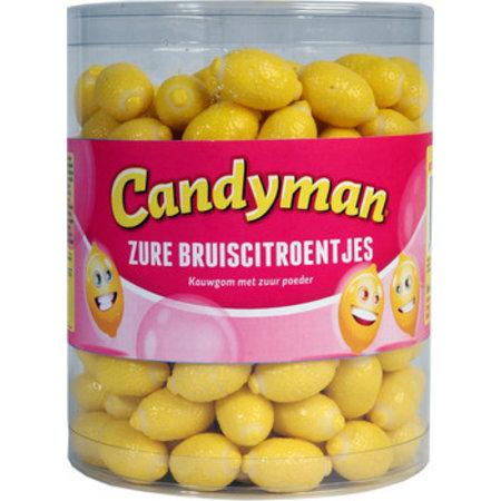 Candyman Candyman - Zure Bruiscitroentjes, 200 Stuks
