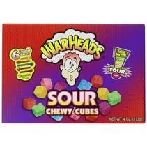 Warheads - Warheads Chewy Cubes Box, 12 Stuks