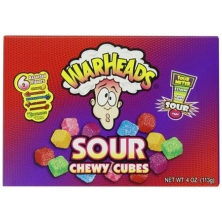 Warheads Warheads - chewy cubes box - 12 stuks