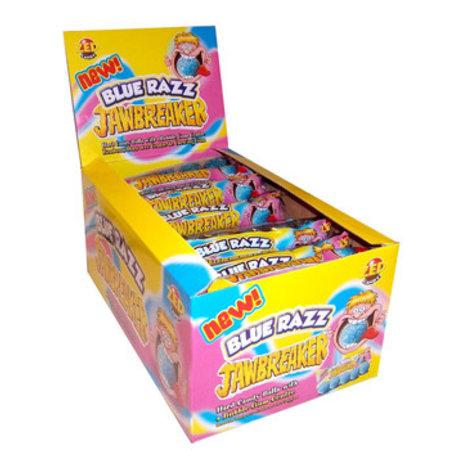 Zed Candy Zed Candy - jawbreaker blue raspberry - 40 5 pack