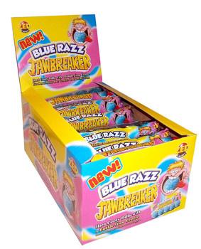 Zed Candy Zed Candy - Jawbreaker Blue Raspberry, 40 5 Pack