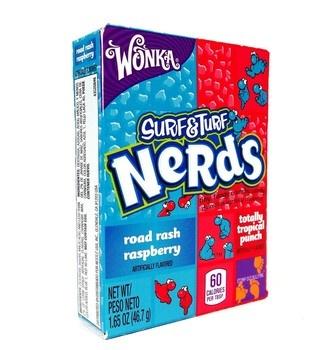 Wonka Wonka - nerds tropical punch - 24 stuks