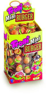 Trolli Trolli - Mini Trolli Burger 80St (10G), 80 Stuks