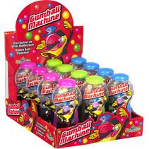 Funny Candy - gumball machine - 12 stuks