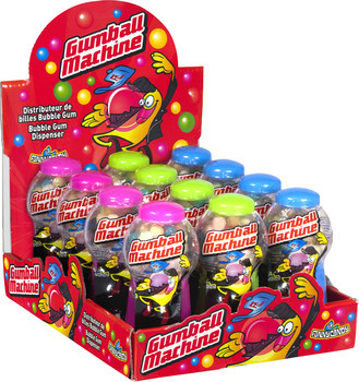 Funny Candy Funny Candy - Gumball Machine, 12 Stuks