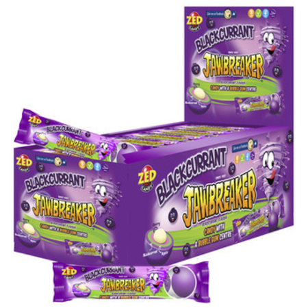 Zed Candy Zed Candy - Jawbreaker Black Currant 5-Pk, 40 Stuks