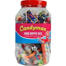 Candyman - euroduppiemix 100 st - 100 stuks