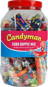 Candyman Candyman - Euroduppiemix 100 St, 100 Stuks