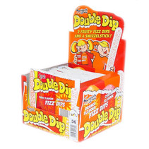 Swizzels - double dip cherry/orange - 36 stuks