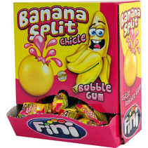 Fini - liquid bananasplit gum 200st - 200 stuks