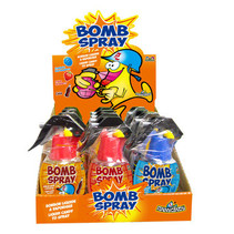 Candy Novelty Network - Bomb Spray 57G, 12 Stuks