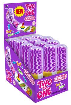 Two to One Two To One - Two To One Wild Berry, 12 Stuks