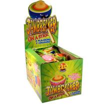 Zed Candy - jawbreaker on a stick - 15 stuks