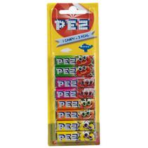 Pez - Pez Refill 8Pck Fruit Blister, 24 Zakken