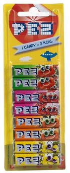 Pez Pez - Pez Refill 8Pck Fruit Blister, 24 Zakken