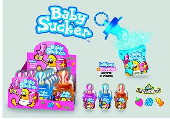 Candy Novelty Network Candy Novelty Network - Baby Sucker 24G, 12 Stuks